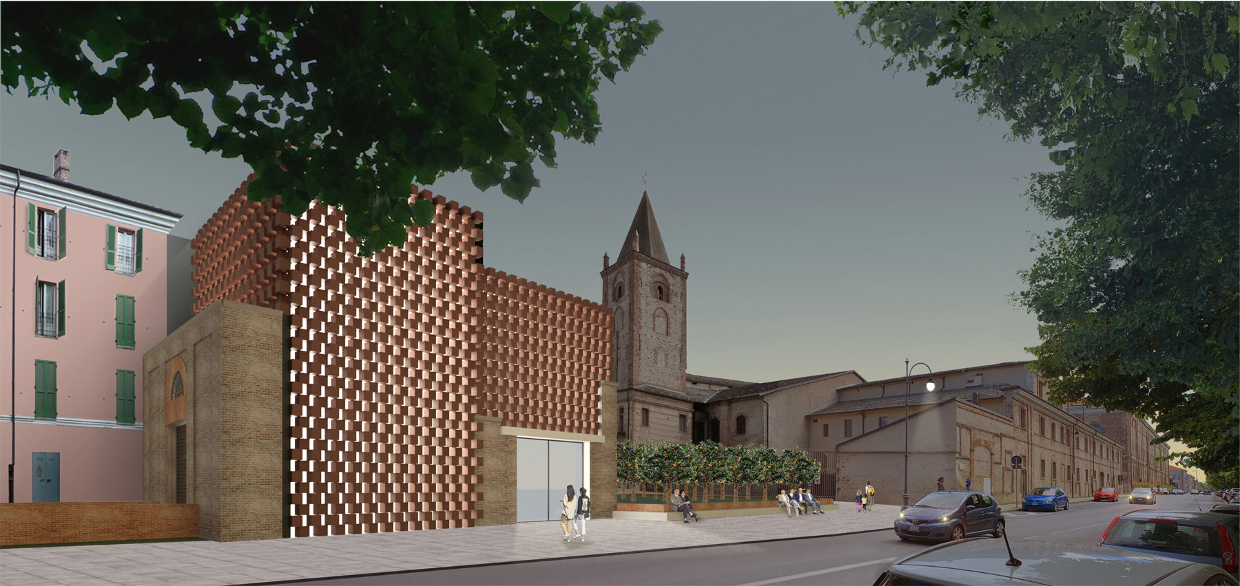 "Re-design of the ex""Frigorifero Militare"" Building into Exhibition Spaces, Auditorium and Cafeteria, Cuneo Italy"
