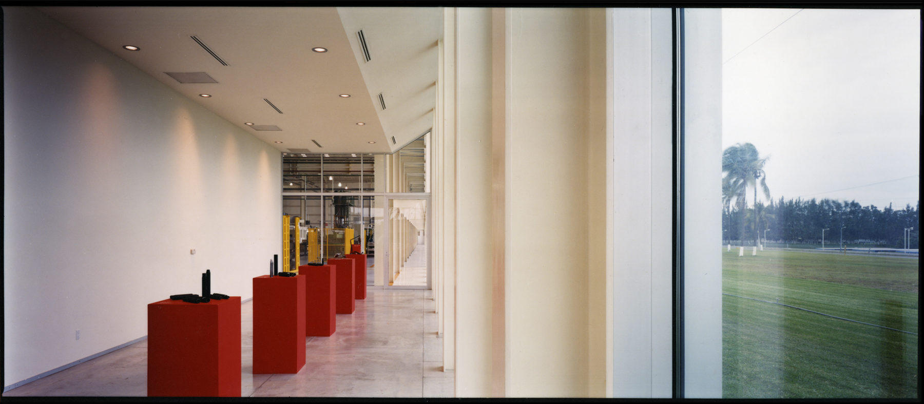 Products Exhibition at the automative Components Plant Entrance Hall, Veracruz, Mexico