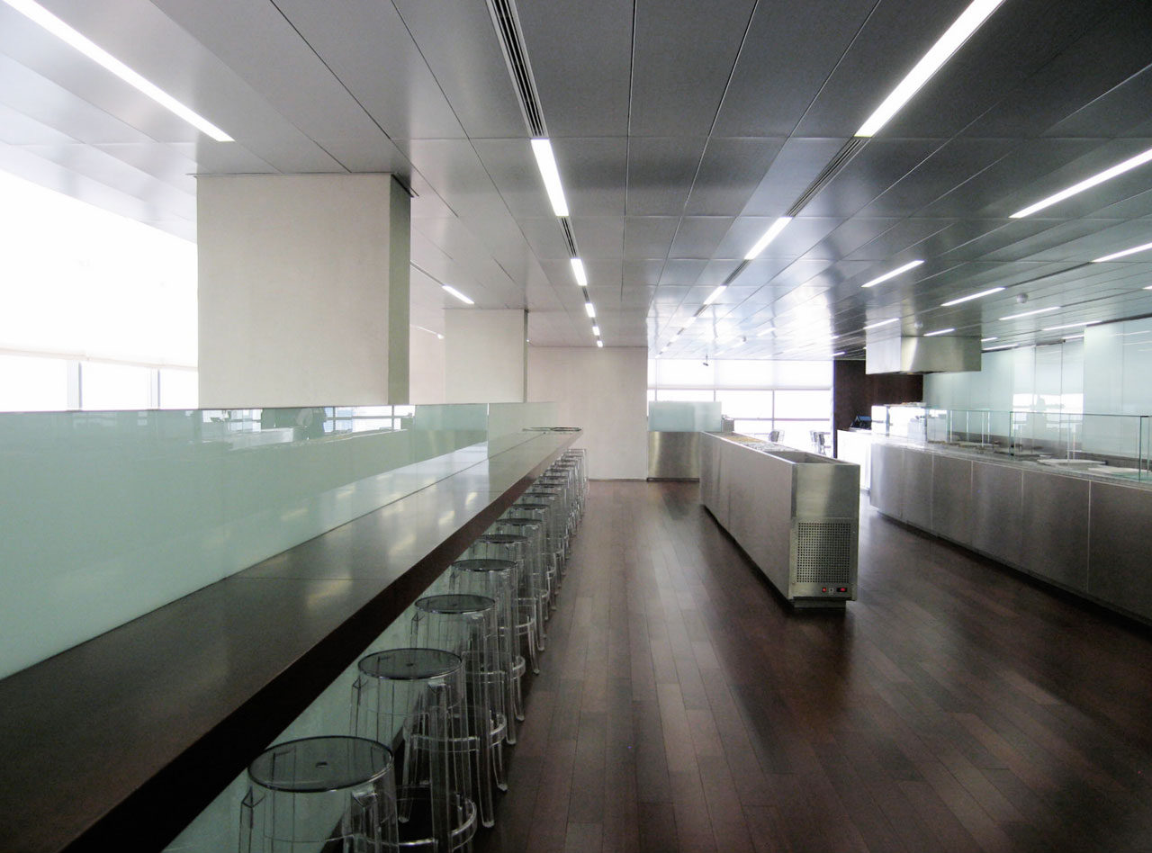 Cafeteria at 30th Floor, Buenos Aires, Argentina