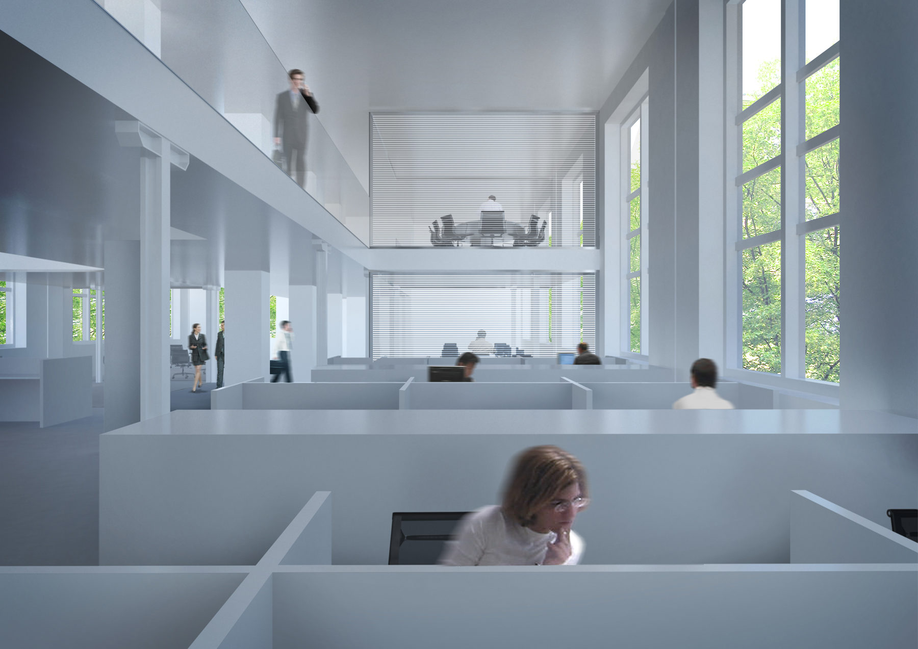 Techint Offices Renovation, Milan, Italy