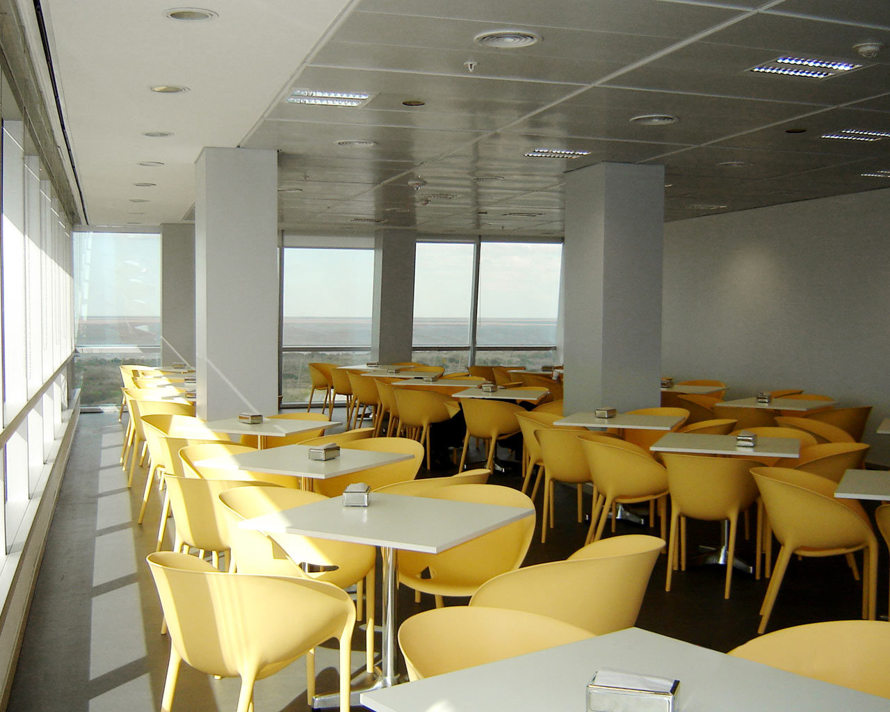 Cafeteria, Techint HQ Offices, Buenos Aires, Argentina