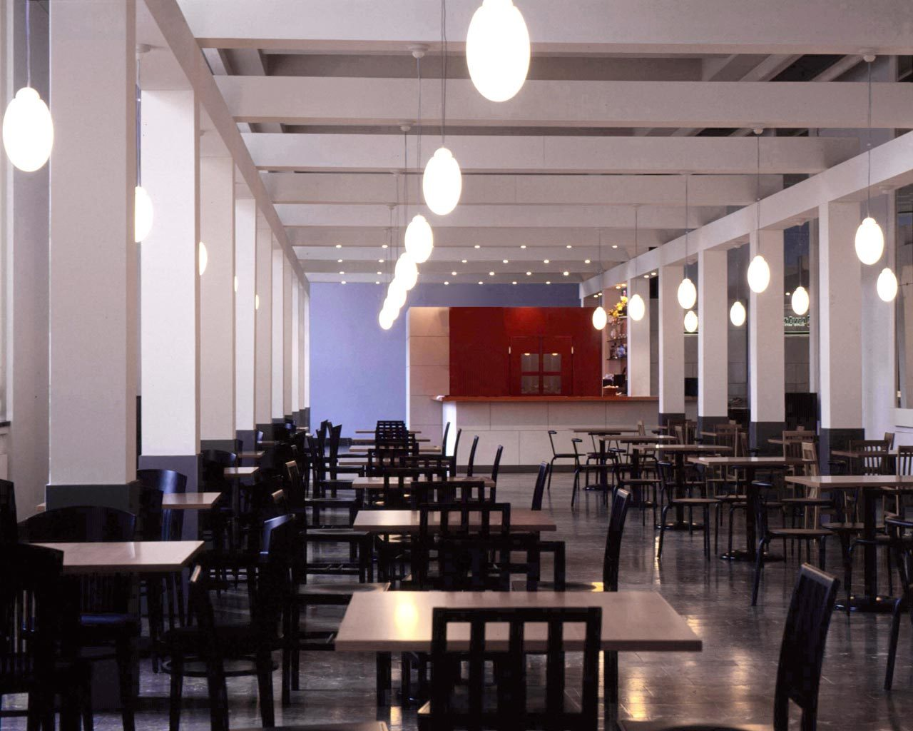 Cafeteria I, Altes Museum, Berlin, Germany, 1993