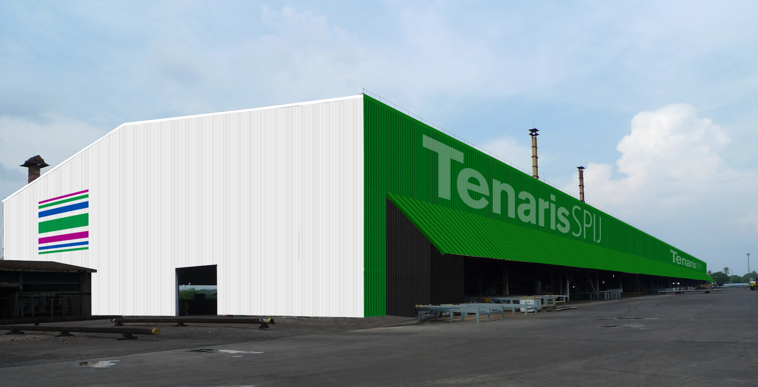 Tenaris SPIJ Industrial Plant in Cilegon, Indonesia. Signing