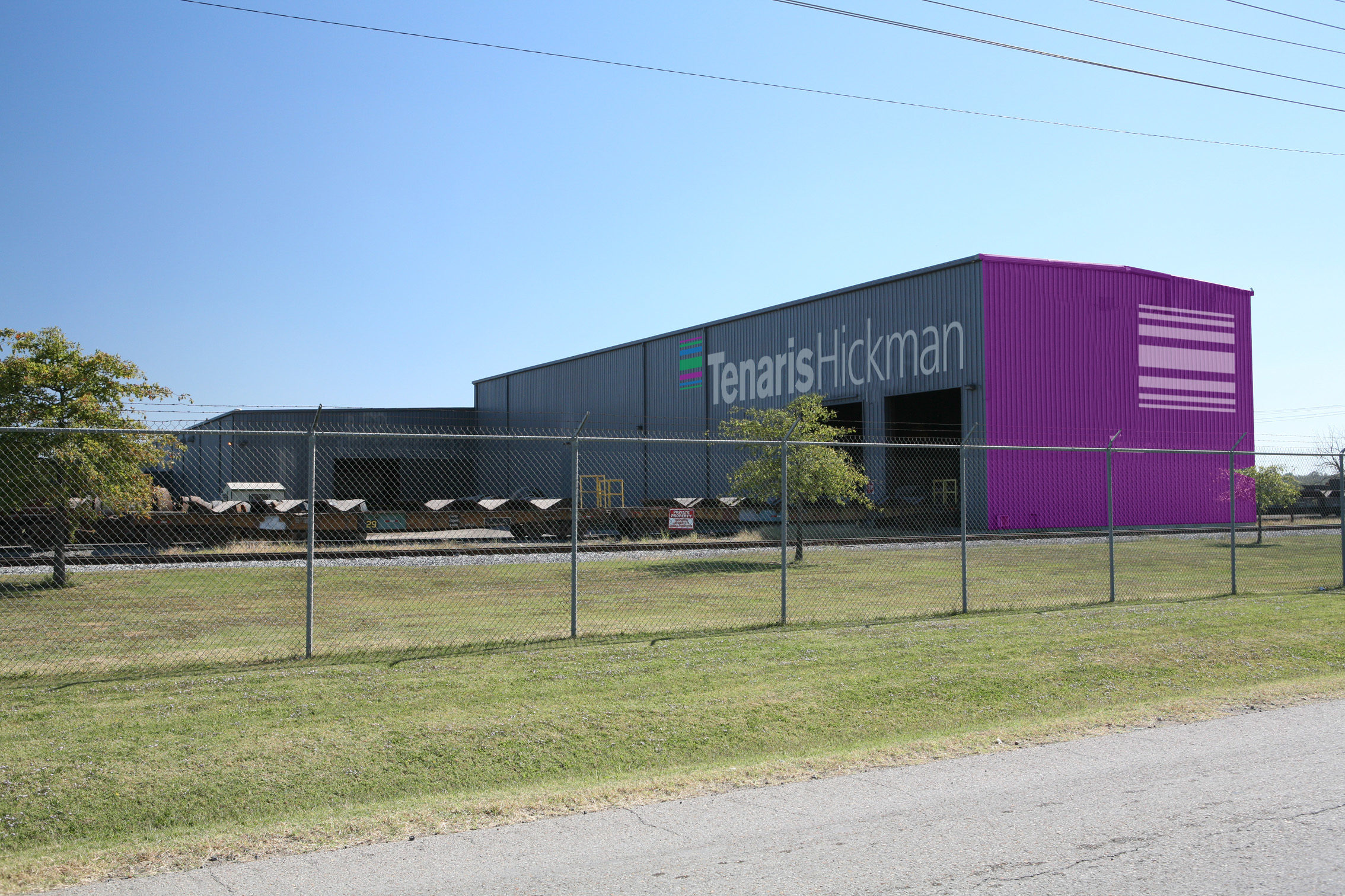 Tenaris Hickman Industrial Plant in Blytheville, USA. Signing
