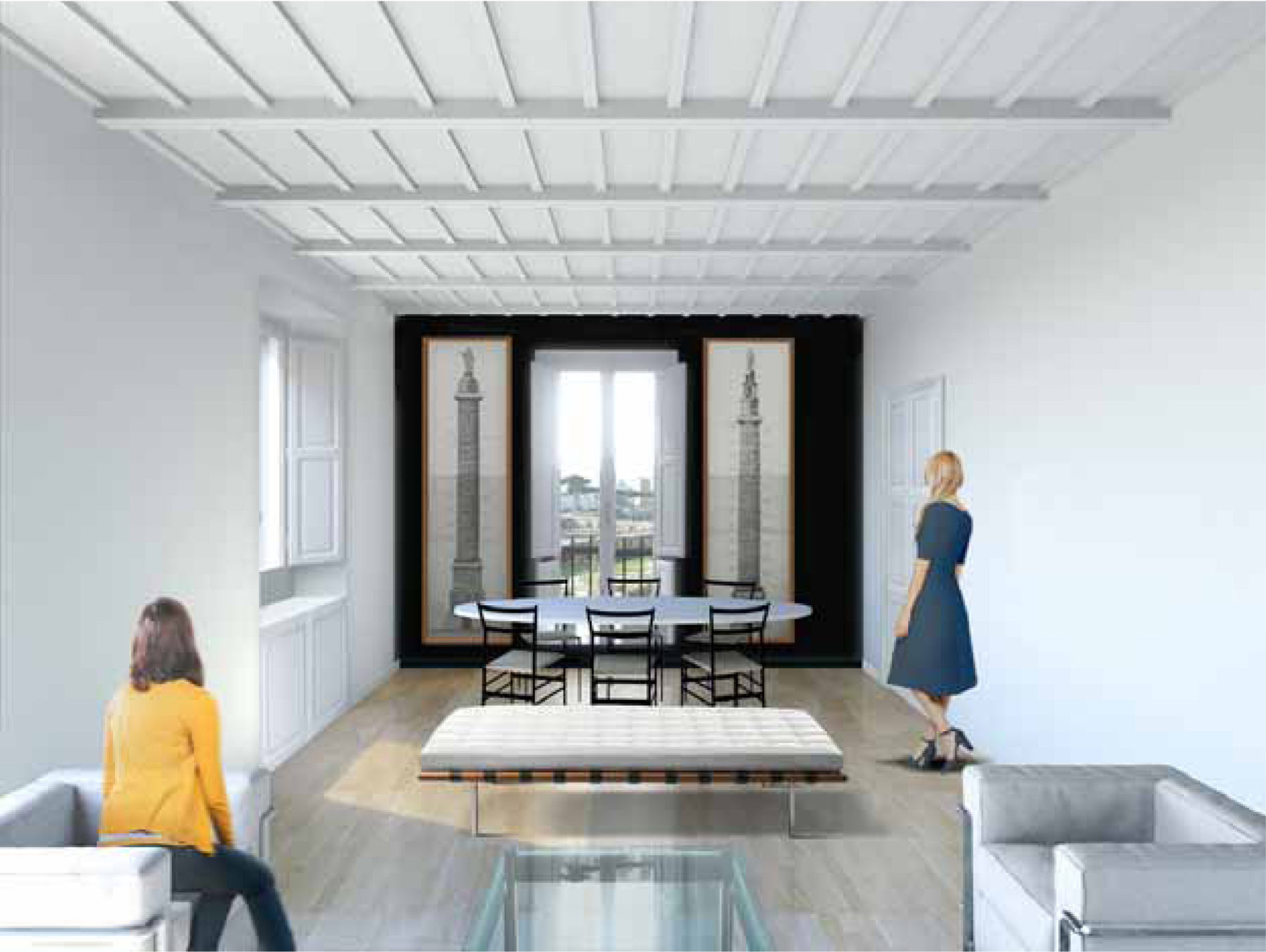 Renovation of a two Stories Apartment, Rome
